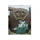 y01612蘭韻馨香陶雕