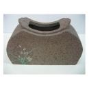 y01615蘭花彩繪陶器