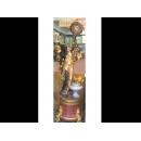 維納斯立鐘 y01693 時鐘.溫度計.鏡子 立鐘 (已售出)