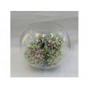 y01743 玻璃花器-圓球B656