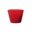y01771 樹脂花器(紅)-小YH6027