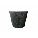 y01772 樹脂花器(黑)-大YH6072
