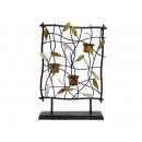 y02003-燭台-貝殼花燭台