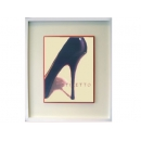 y02054-複製畫-時尚系列-高跟鞋(藍)