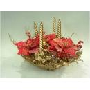 y02101-聖誕作品-聖誕紅花卉