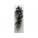 y02110-聖誕作品-創意聖誕紅藤(紫)
