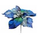y02146-花材-聖誕花(藍)