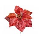 y02154-花材-聖誕花短枝(紅)