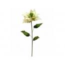 y02186-花材-絨聖誕花小(米黃)