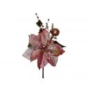 y02204-花材-聖誕花+蘋果