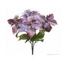 y02238-花材-聖誕花束(紫)