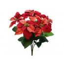 y02239-花材-聖誕花束(紅)