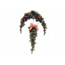 y02264-花材-聖誕門眉