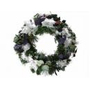 y02280-花材-聖誕圈