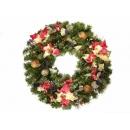 y02281-花材-聖誕圈
