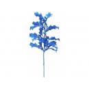 y02345-花材-其他-彩晶冬青葉(藍)