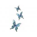 y02407-裝飾品-珠片蝶(藍)