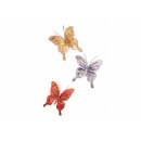 y02414-裝飾品-珠片蝶