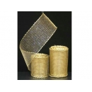 y02440-裝飾品-金蔥織網(金)(兩種尺寸)
