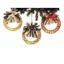 y02499-裝飾品-聖誕圈飾品
