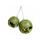 y02531-裝飾球-亮片球(綠)