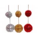 y02533-裝飾球-彩蔥鏡片球-7cm6入-10cm3入