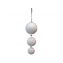 y02545-裝飾球-雪白球串-(6入)