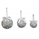 y02548-裝飾球-銀亮片球(銀色)