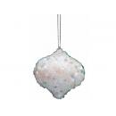 y02557-裝飾球-白雪陀螺6入