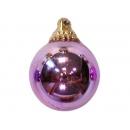 y02583-裝飾球-亮面球.亮光球(淺紫色)5CM-6入