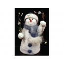 y02589-玩偶-拐杖雪人