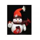 y02591-玩偶-拐杖雪人