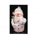 y02593-玩偶-藍帽雪人
