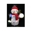 y02598-玩偶-紅帽雪人