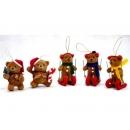 y02612-玩偶-泰迪熊-滑雪泰迪熊