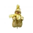 y02626-玩偶-雪人插飾
