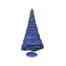 y02662-架構-鐵絲樹(藍色)