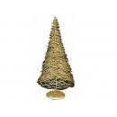 y02663-架構-鐵絲樹(金色)