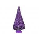 y02664-架構-鐵絲樹(紫色)