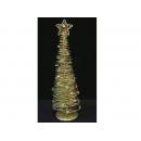 y02671-架構-鑲珠鐵絲樹(金色)
