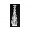 y02674-架構-鑲珠鐵絲樹(白色)