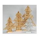 y02745-架構-瓊麻聖誕樹(可摺疊)(金色)