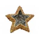 y02760-架構-鑲珠星型花器