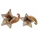 y02761-架構-鑲珠牛角花器
