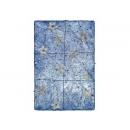 y02765-架構-瓊麻編織方塊(藍色)