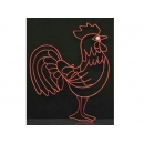 y02778-架構-公雞(紅)