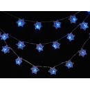 y02861-LED聖誕燈-星星串(藍色)(20個)