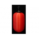 y02874-春節系列-飾品-素面紅燈籠(橢圓形)25cm/1對