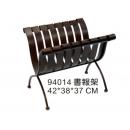 y03103 鐵材藝術系列-鐵材家飾-書報架
