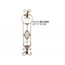 y03108-鑄鐵家飾-燭台壁飾